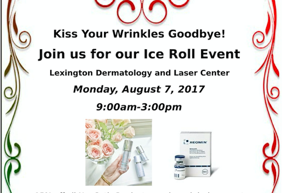 Kiss Your Wrinkles Goodbye Event